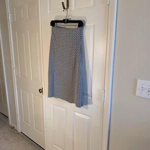 Coldwater Creek black/white pattered skirt